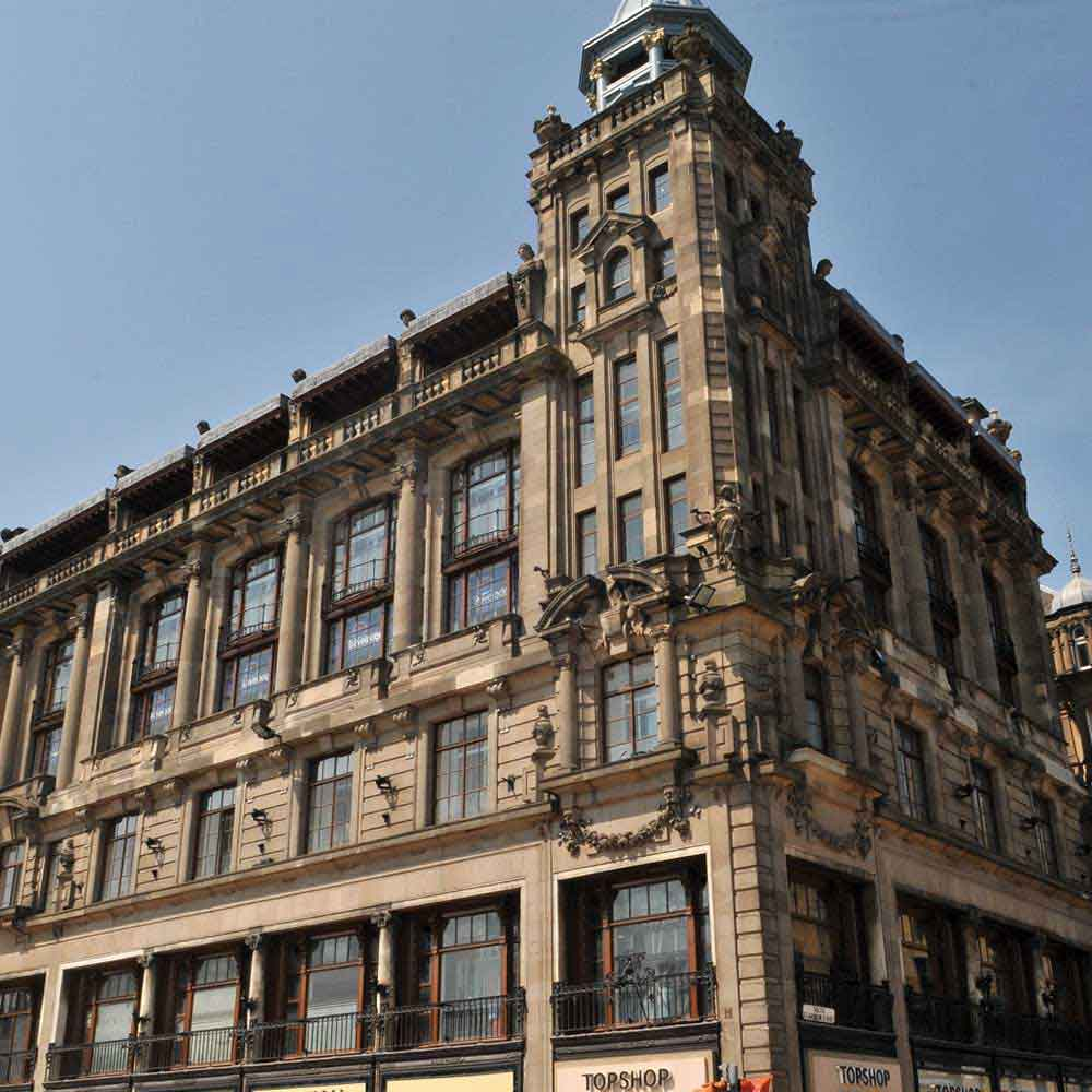 Topshop travelodge join forces air design for Design hotel edinburgh